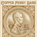 Copper Penny Bank