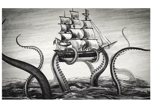 Steven Noble Illustrations Kraken Rum Survival