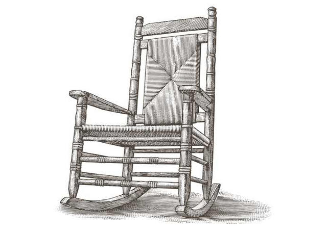 Tremendous Steven Noble Illustrations Rocking Chair Caraccident5 Cool Chair Designs And Ideas Caraccident5Info