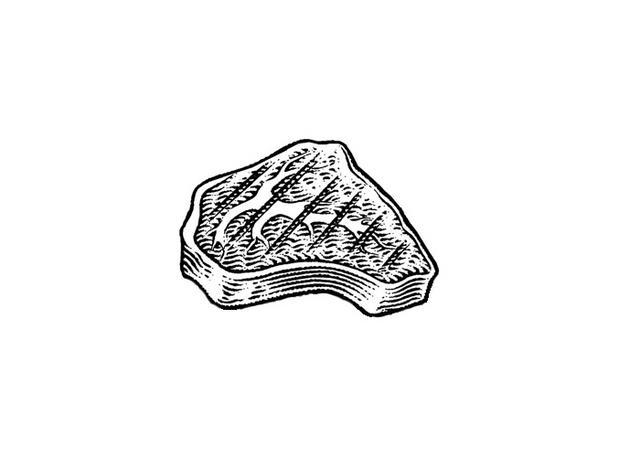 Steven Noble Illustrations Steak