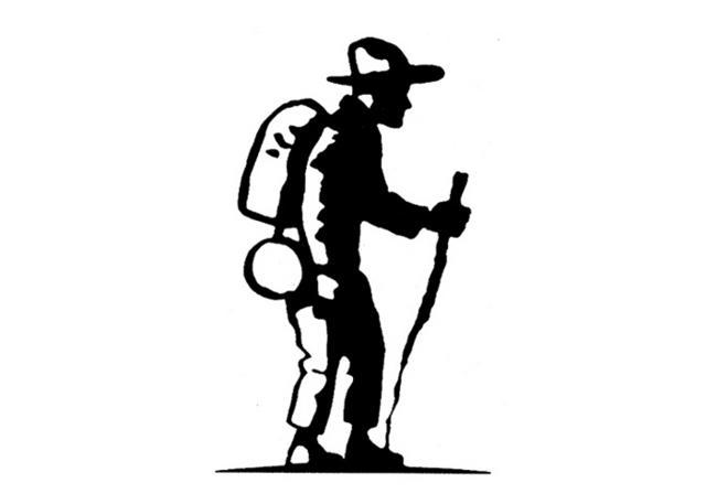 Steven Noble Illustrations Hiker