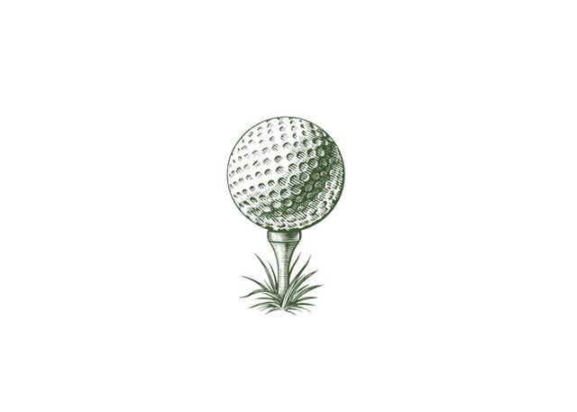 Steven Noble Illustrations: Golf Tee