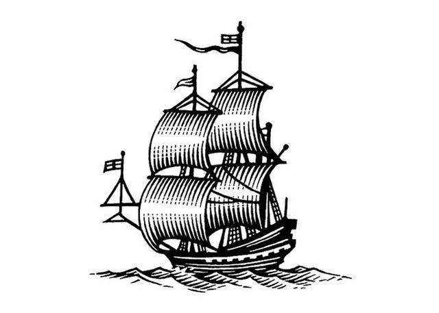 Steven Noble Illustrations Galleon