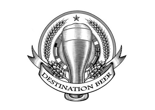 Steven Noble Illustrations: Destination Beer logo