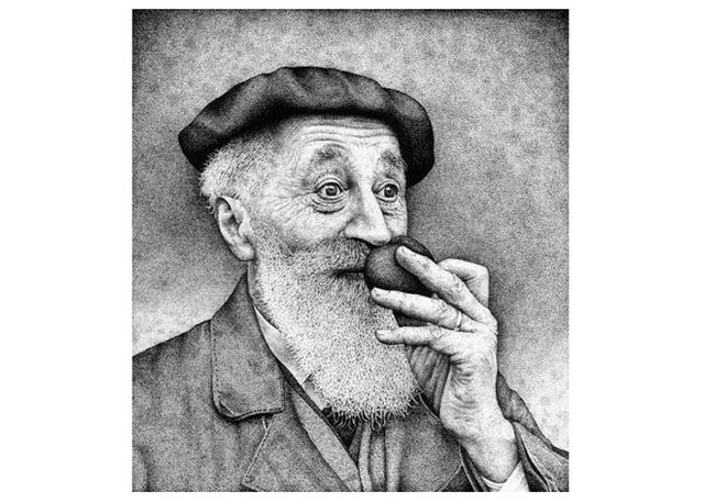 Old Man Stipple