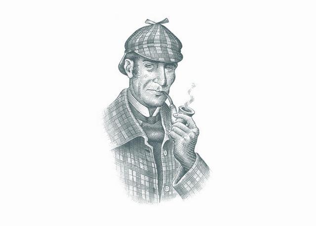 Steven Noble Illustrations: Sherlock Holmes