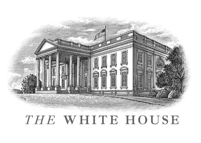 Line Art Of White House : Steven noble illustrations the white house logo