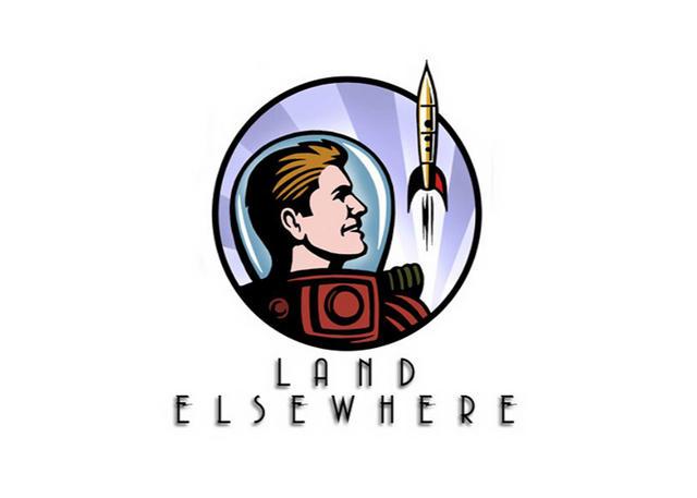 Steven Noble Illustrations Land Elsewhere Logo