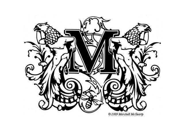 Steven Noble Illustrations Marshall Mcgearty Logo Identity