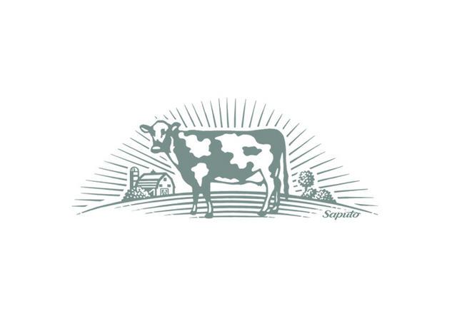 Dairy cow logo - photo#10