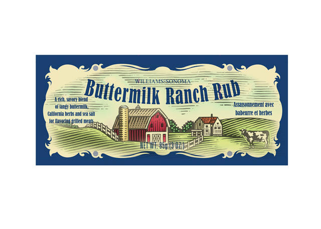 Ranch Rub Woodcut - William Sonoma